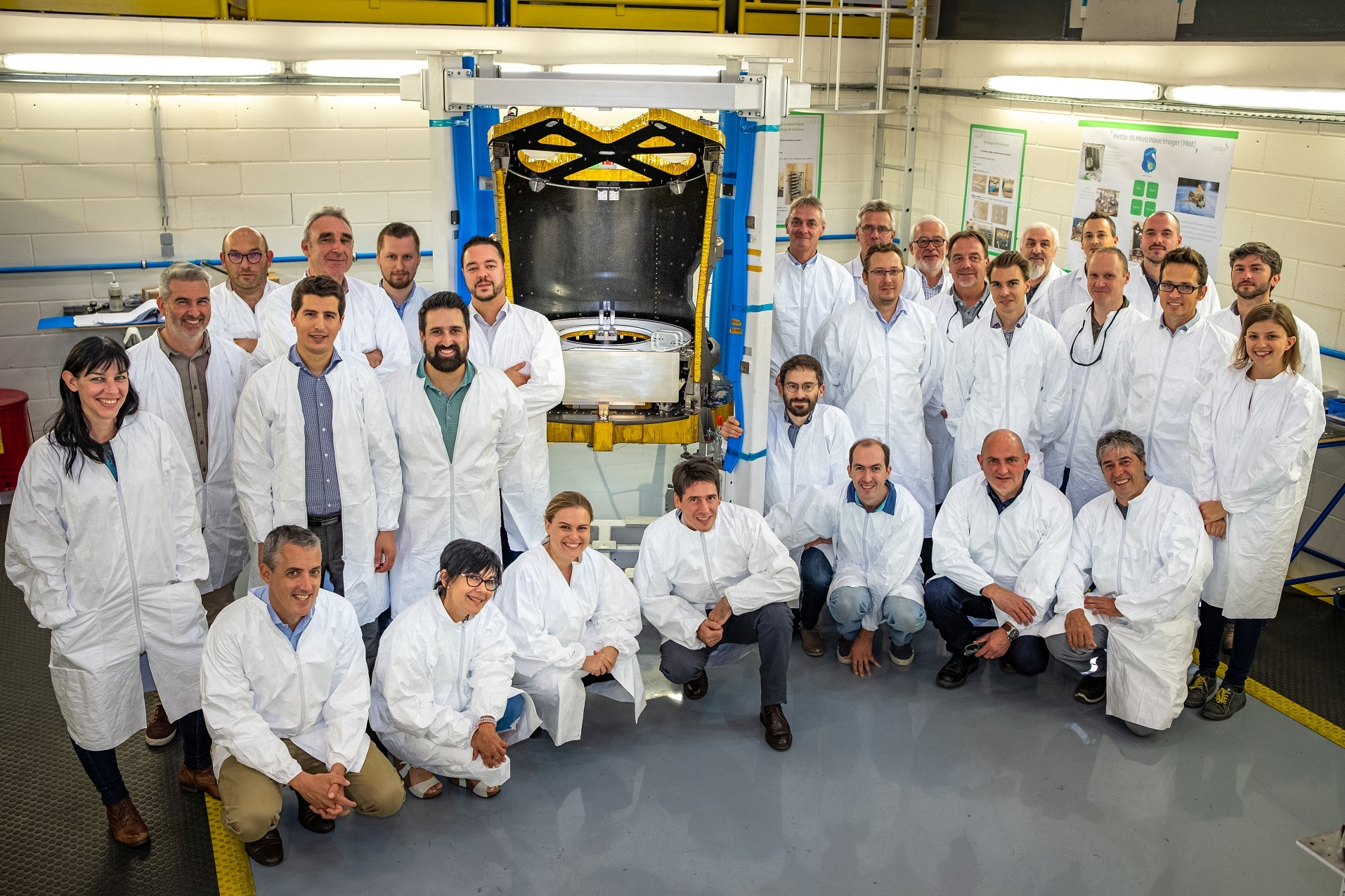 Image for Space News MetOp MWA RFI first delivery